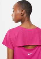 Nike - Icon clash miler top - pink