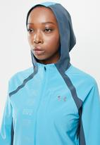 Under Armour - UA qualifier outrun the storm jacket - blue