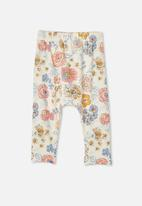 Cotton On - The legging - crystal pink/matilda floral