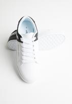 Sissy Boy - Splitting colour sneaker - white & black