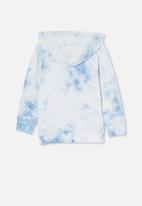 Cotton On - Charlie hoodie - dusk blue/tie dye