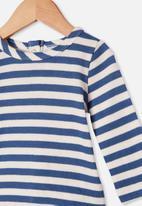 Cotton On - Lenny long sleeve top - blue