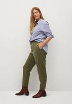 Violeta by Mango - Plus Jeans rita - khaki