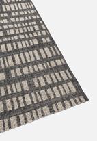 Hertex Fabrics - Coding outdoor rug - smoke