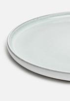 Excellent Housewares - Dinner plate set of 6 - grey