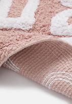 Bathroom Solutions - Gorgeous bath mat - pink