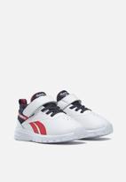Reebok - Infants reebok rush runner 3,0 syn sneakers - white/vector navy/vector