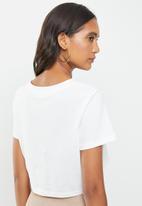 Cotton On - V notch tee - white