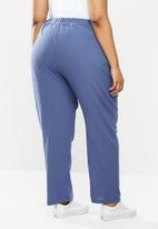 Cotton On - Curve cali pull on pants - blue
