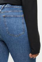Cotton On - Curve Taylor mom jean - dark blue