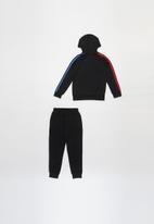 adidas Originals - Full zip hoodie set - black