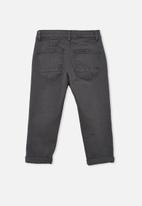 Free by Cotton On - Boys street jean - black