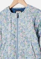 Cotton On - Ellie woven quilted jacket - multi