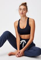 Cotton On - Lifestyle gym track pant - midnight marle