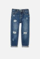 Cotton On - India slouch jean - midnight wash