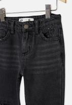 Cotton On - India slouch jean - black wash