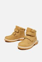 Cotton On - Double strap boot - tan