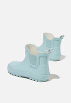 Cotton On - Gusset gumboot - blue