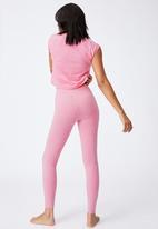 Cotton On - So peachy tight - aurora pink marle