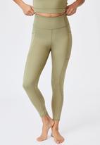 Cotton On - Lifestyle pocket 7/8 tight - oregano laser
