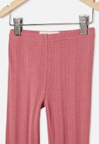 Cotton On - Huggie tights -pink