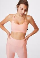 Cotton On - Workout yoga crop - fairy tale texture