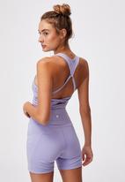 Cotton On - Lifestyle loop cross back vestlette - purple