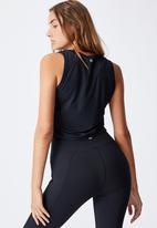 Cotton On - V-neck vestlette - black