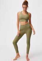 Cotton On - Ultimate booty 7/8 tight - olive