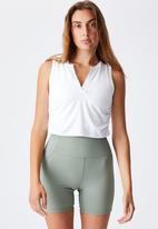 Cotton On - V-neck vestlette - white