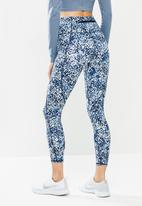Cotton On - Ultimate booty 7/8 tight - blue & white