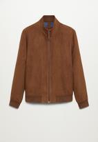MANGO - Siena jacket / brown