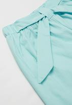 POP CANDY - Girls shorts with belt - blue