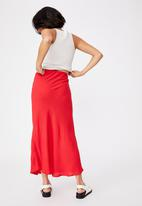 Cotton On - All day slip skirt - lucky red