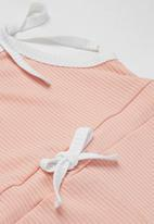 POP CANDY - Girls playsuit with bows - pink