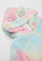 POP CANDY - Girls faux fur jacket - multi