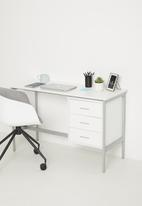 Sixth Floor - Sammy desk - white