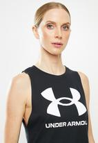 Under Armour - Sportstyle graphic tank - black
