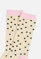 Cotton On - Womens novelty socks - neutral