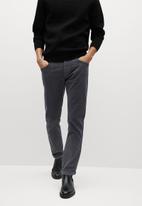 MANGO - Bardem trousers - charcoal