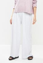 Cotton On - Wide leg lounge track pant - grey