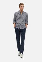 MANGO - Vichy shirt - grey