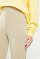 Cotton On - April wide leg pants - beige