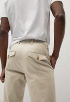 MANGO - Prato trousers - lt beige
