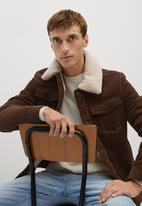 MANGO - Morys jacket - brown