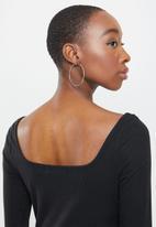 Glamorous - Satina top - black