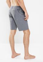 Quiksilver - Union heather amphibian 20 shorts - grey