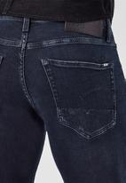G-Star RAW - 3301 slim rink superstretch jeans - worn in eve destroyed