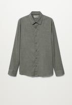 MANGO - Bose shirt - khaki