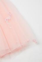 POP CANDY - Girls flamingo tutu dress - pink